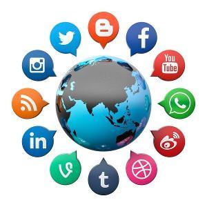 Social media. Image by Gino Crescoli.