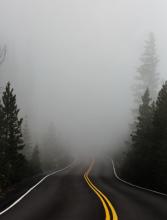 Mist. Foto door Katie Moum via Unsplash