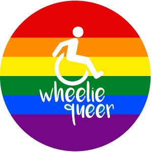 Wheelie queer. (Ontwerp: Ellen Murray, www.ellenmurray.co.uk)